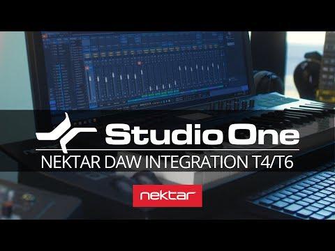 Studio One DAW Integration for Nektar Panorama T4 & T6