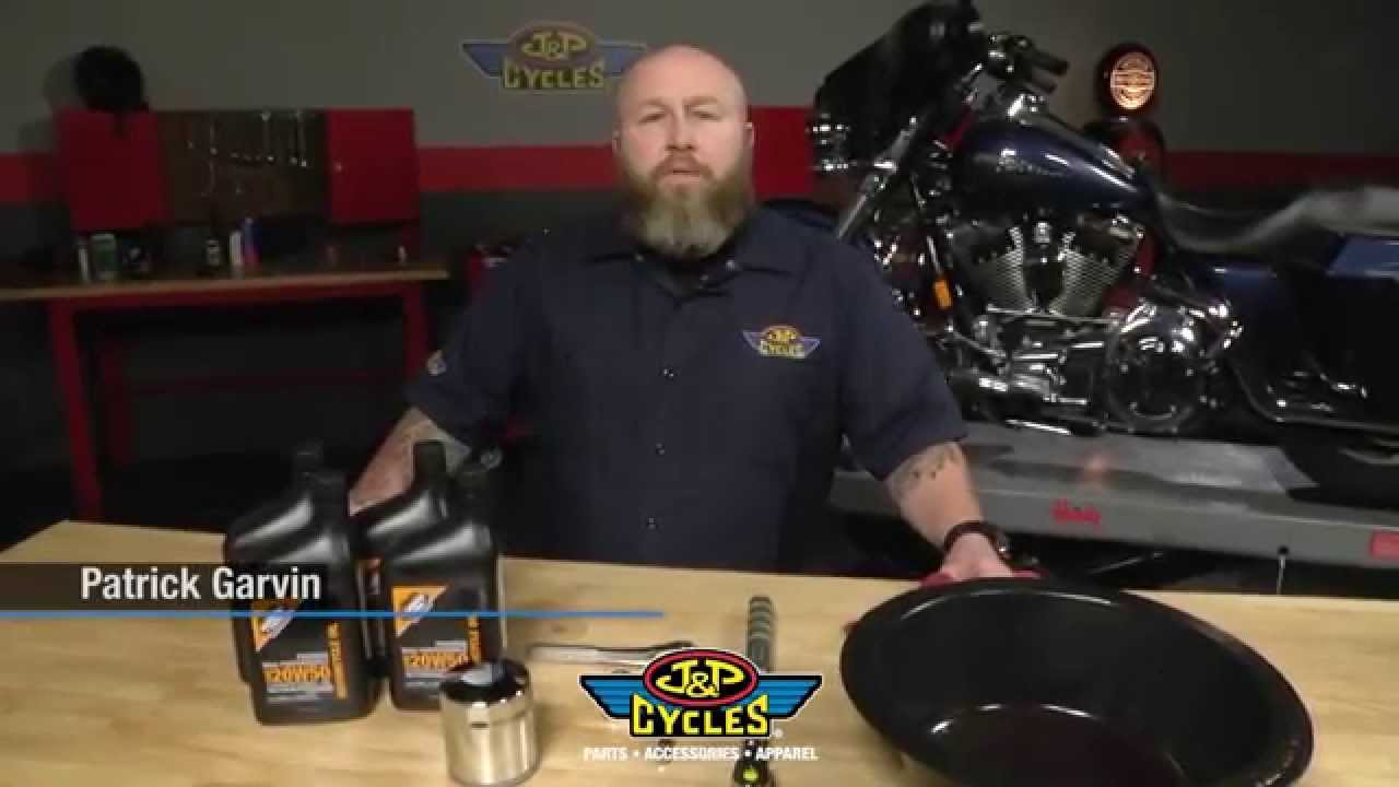 How To Change Oil On Harley Davidson Touring Models By J Amp P