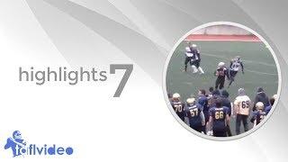 Türkiye Amerikan Futbolu Ligi Highlights 7 - TAFL Video