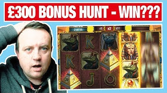BONUS HUNT - Online Casino Slots - PLAYING bonanza + book of dead + legacy of egypt + centurion