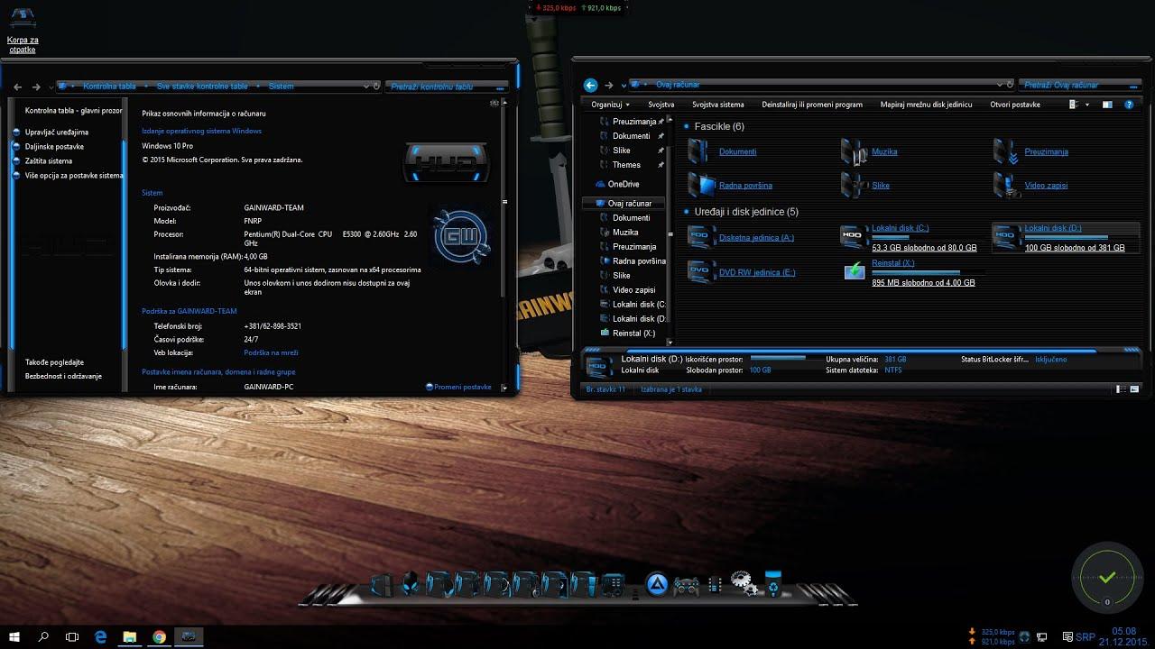customization windows 10 build 10586 aka 1511 youtube