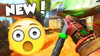 "NEW ""HOME WRECKER"" DLC MELEE WEAPON in BLACK OPS 4!!"