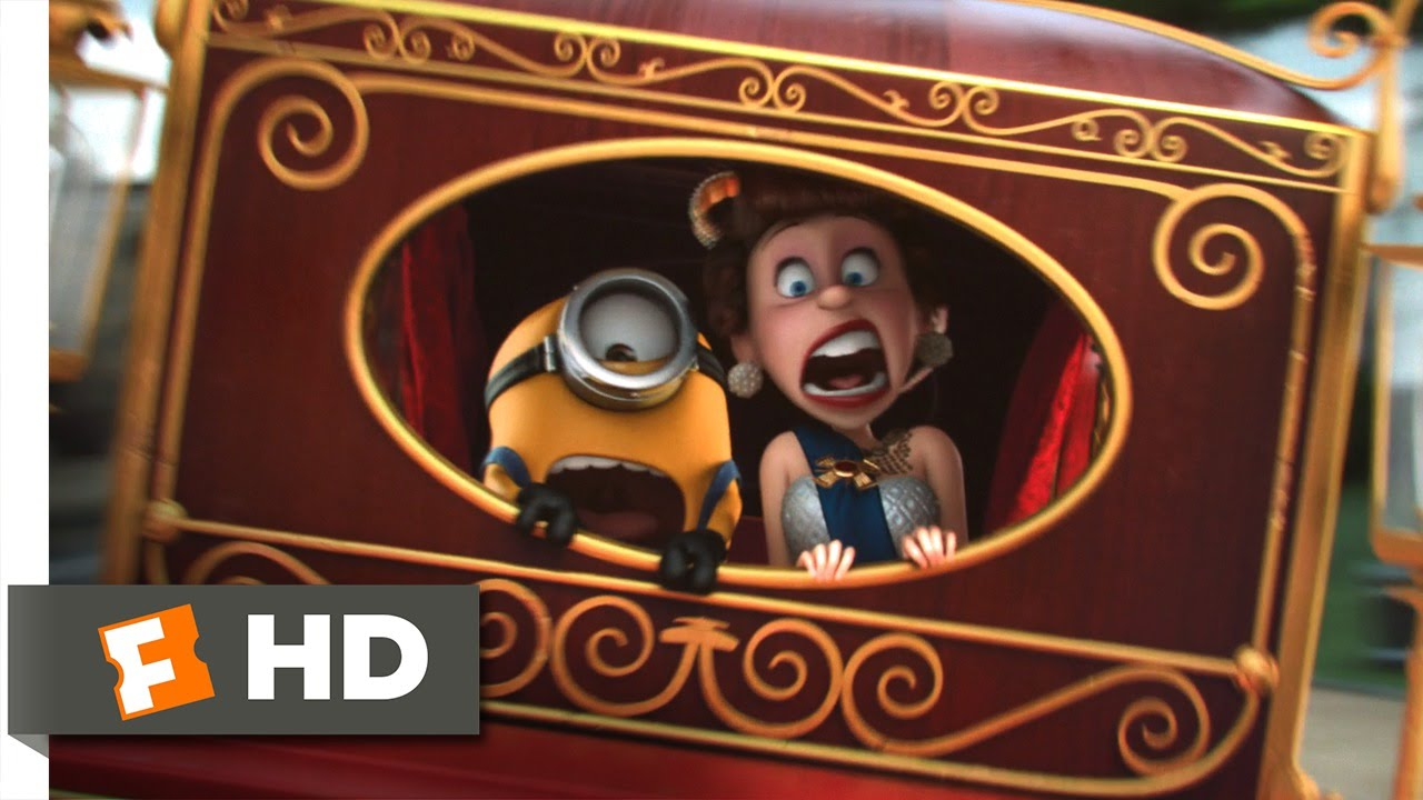 f612303699 Minions (5 10) Movie CLIP - Kidnapping the Queen (2015) HD - YouTube