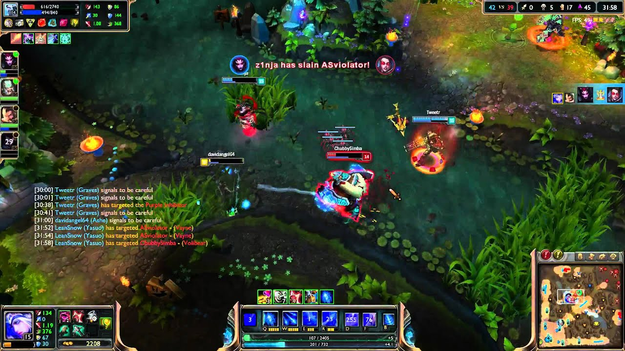 League of Legends - Support Ashe (Twitch tv Stream)