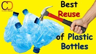 10 Best Reuse of Old Plastic Bottle III Best out of Waste Plastic Bottle Craft I Creative Diaries