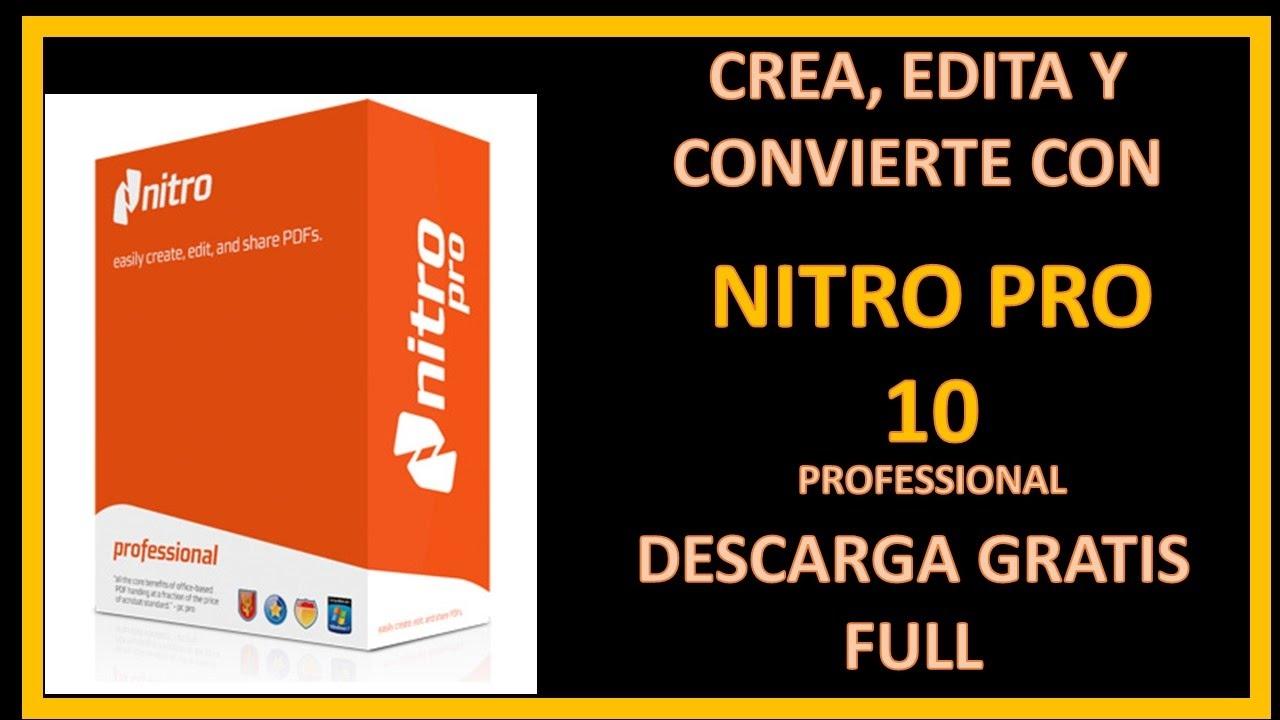 nitro pdf 8 windows 10