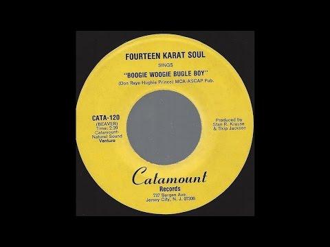 Fourteen Karat Soul - Boogie Woogie Bugle Boy - 1979 Acappella Doo-Wop on Catamount label