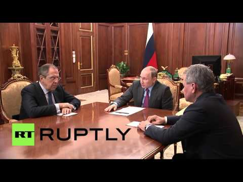 Russia: Putin orders Russian military withdrawal from Syria - Full statement