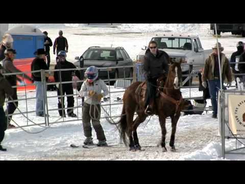 2009 Skijoring Event In Whitefish, Montana (part 8)
