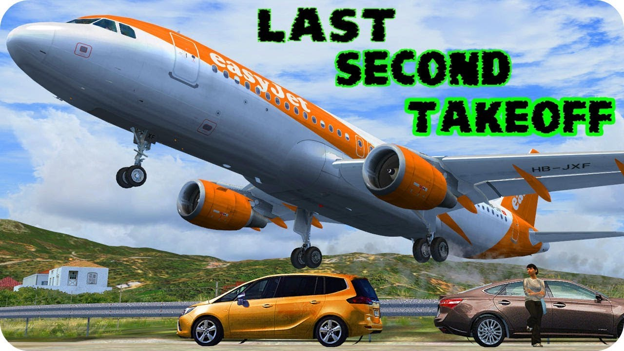 EasyJet Last Second Take-off - Airbus A320 FSX & P3D Download