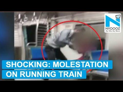 Video: Man Sexually Assaults Woman on Running Mumbai Local Train | NYOOOZ TV
