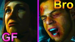 Until Dawn - Killing Best Friend for Girlfriend (Saw Death Scene)