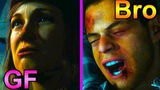 Until Dawn - Killing Best Friend for Girlfriend (Saw Death Scene)