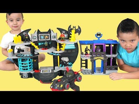 DC Super Friends Batcave And Gotham City Jail CKN Toys