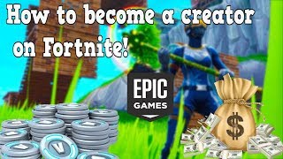 HOW TO BECOME A CREATOR ON FORTNITE WORKING 100% Part 2