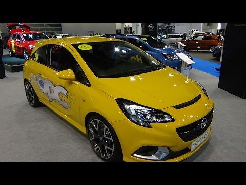2016 - Opel Corsa OPC - Exterior and Interior - Zürich Car Show 2015