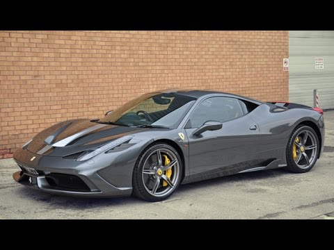 New Car Ferrari 458 Speciale Collection Day Youtube