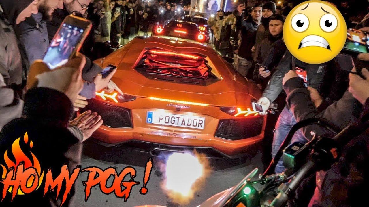 Lambo De L Enfer Vs Moto Du Demon Lucasharesalife 001 Youtube