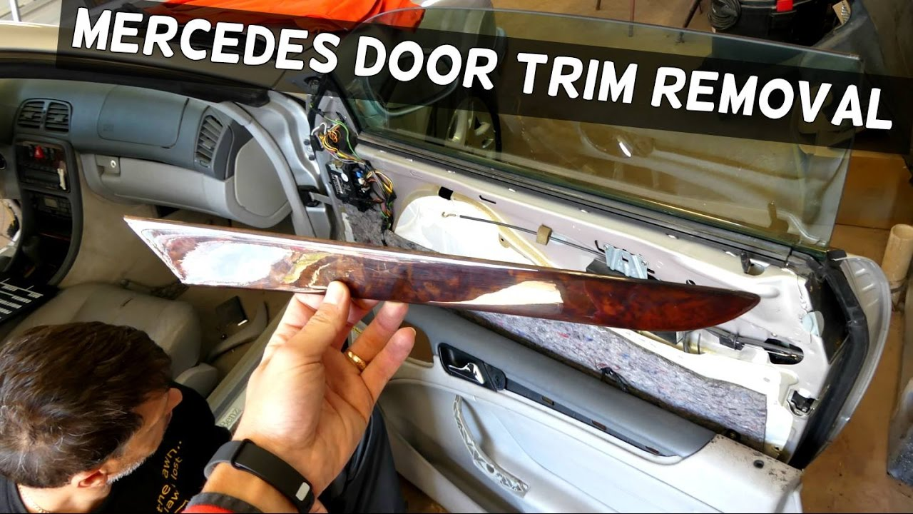 Mercedes Clk W208 Interior Trim Door Trim Removal
