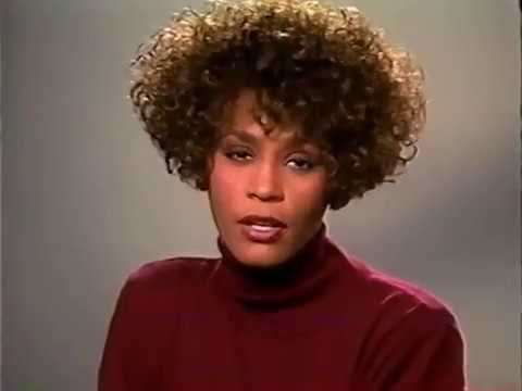 Whitney Houston RARE Salvation Army message 1991