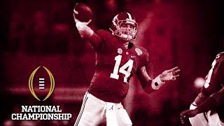 Jake Coker On Brother's Inspiration | National Championship Media Day