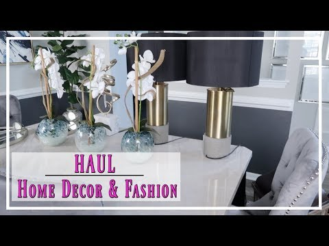 💙 HOME DECOR HAUL | FASHION FINDS | AMAZON PRODUCT REVIEW 💙