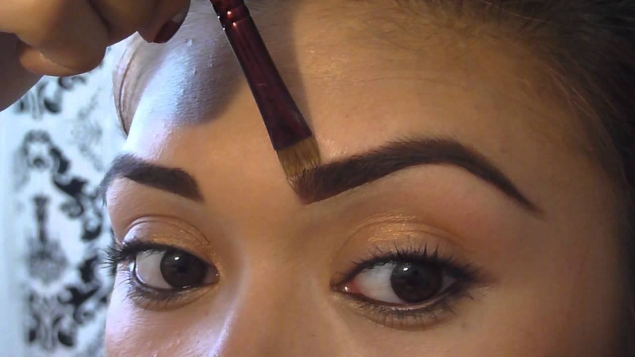 How to get the perfect eyebrows; eyebrow shading tutorial (PART2 ...