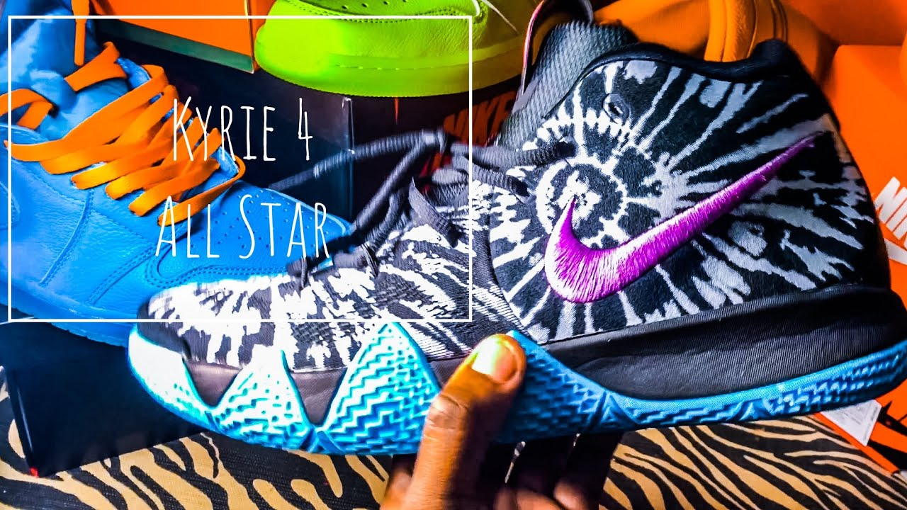 a0e622b78ec2 Kyrie 4 All Star + Epic On Foot - YouTube
