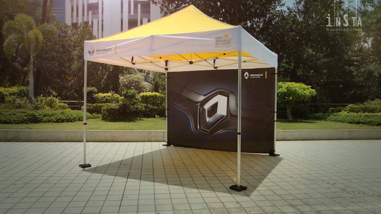 & Best Outdoor Portable Promotional Pop Up Tent u2013 EuroPlus - YouTube