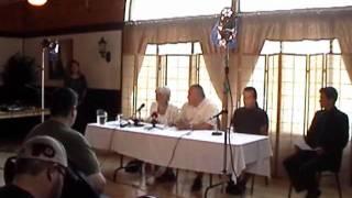 Conférence de presse de la députée Carole Freeman à Kahnawake
