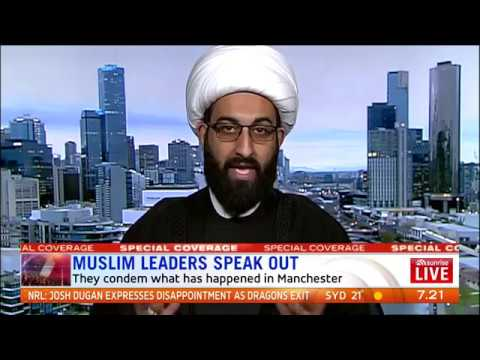 Heated Argument Erupts as Australia's Muslim Leaders Address Manchester Attack.