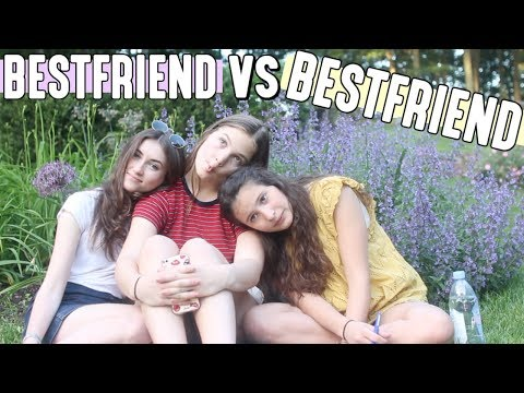 BEST FRIEND VS  BEST FRIEND CHALLENGE! WHO IS THE BETTER FRIEND?!?! thumbnail