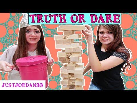TRUTH OR DARE - GIANT JENGA  / JustJordan33