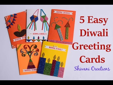 Diwali greetings worldnews 5 super easy handmade cards for diwali diy greeting card diwali cards m4hsunfo
