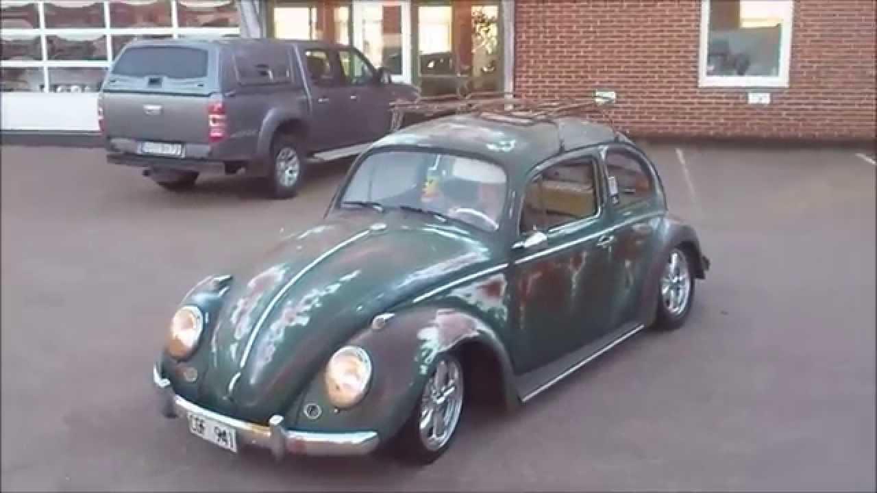 Cool vw beetle patina ratlook