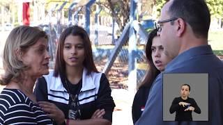 Vereadores Jovens em Ação - Indicação Semáforo em frente à Escola Salinas Fortes