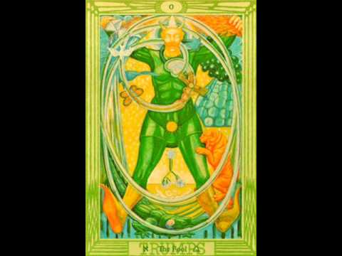 BOOK OF THOTH Crowley0THE FOOL