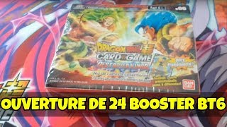 OUVERTURE DISPLAY/24 BOOSTER BT6 DESTROYER KINGS [DRAGON BALL SUPER CARD GAME ]
