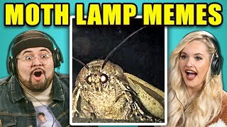 Adults React To Moth Lamp Meme Compilation