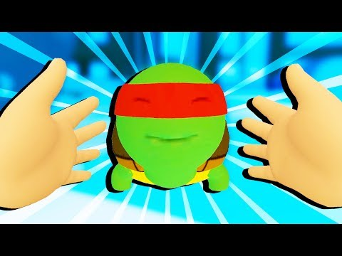 TOYS and PET TURTLES in VIRTUAL REALITY! - Baby Hands VR Gameplay - HTC Vive VR