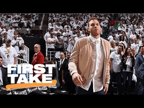 Stephen A. has problem with Blake Griffin saying LeBron is heading to Knicks | First Take | ESPN