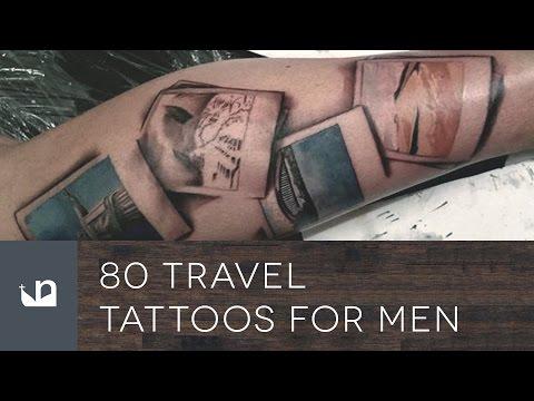 80 Travel Tattoos For Men