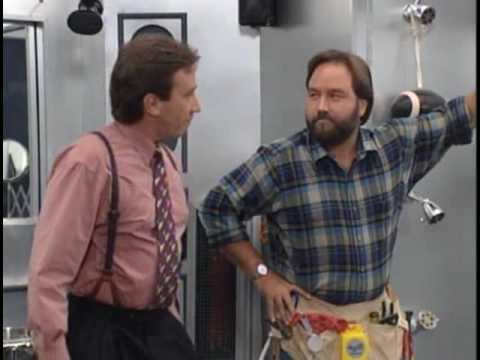 Home Improvement clip of  'The Man's Bathroom' segment