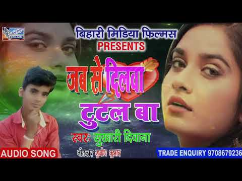 जब से दिलवा टुटल बा!! Jab Se Dilwa Tutal Ba !!New Bhojouri Sad Song Sukhari Deewana
