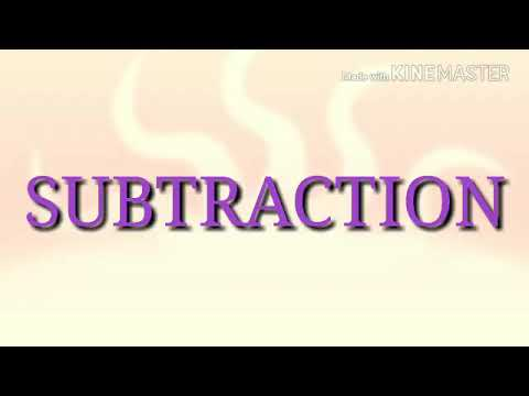 Subtraction of negative numbers, vinculum subtraction
