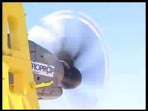 Airbus A400M TP400-D6 Engine Test