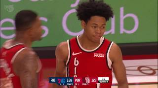 Trail Blazers 128, 76ers 129 | Game Highlights by McDelivery | November 2, 2019