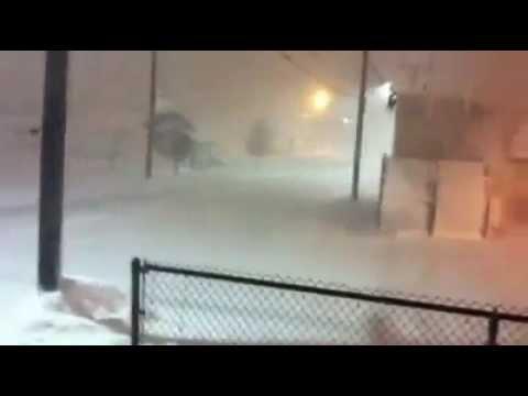 Winthrop Massachusetts Snowstorm