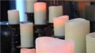 Design Tips : How To Decorate Fireplace Mantels With Candles