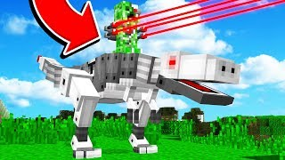 REALISTIC ROBOTS IN MINECRAFT!